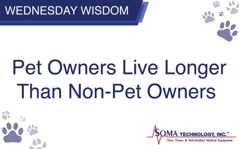 Wednesday Wisdom: Pet Owners Live Longer Than Non-Pet Owners