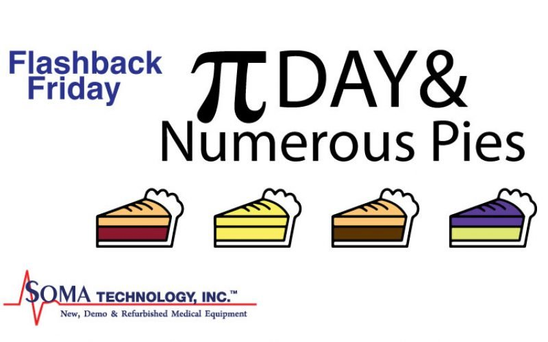 Flashback Friday: Pi Day and Numerous Pies