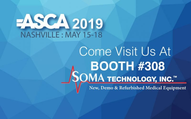 Visit Soma Technology at ASCA 2019!
