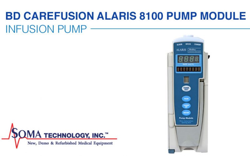 BD CareFusion Alaris 8100 Pump Module Unit