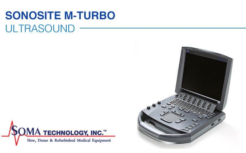 Sonosite M-Turbo Portable Ultrasound Machine Laptop Style