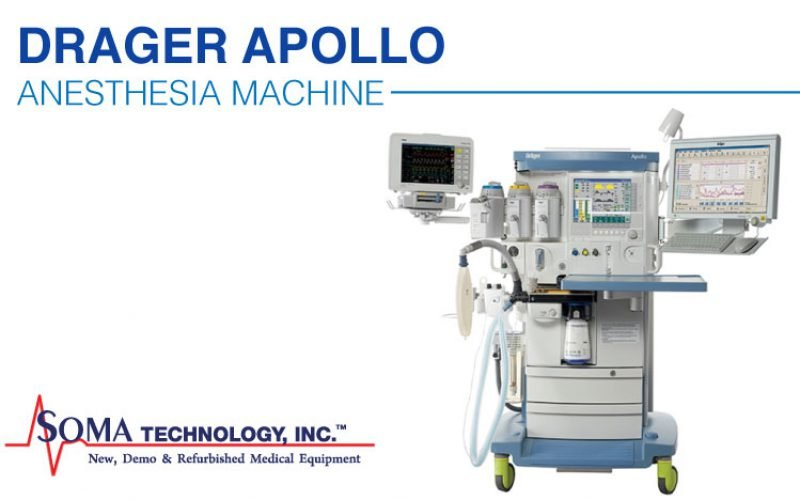 Drager Apollo Anesthesia Machine Featuring E-Vent