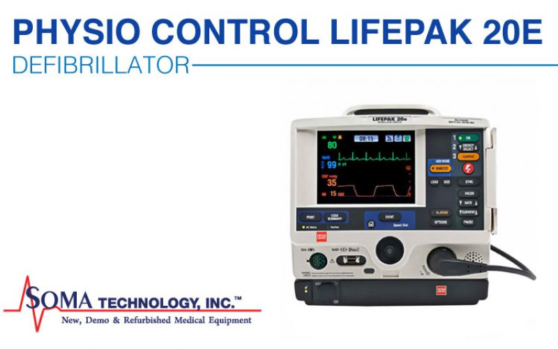 Lifepak 20e Defibrillator – AED Functions with Manual Capabilities