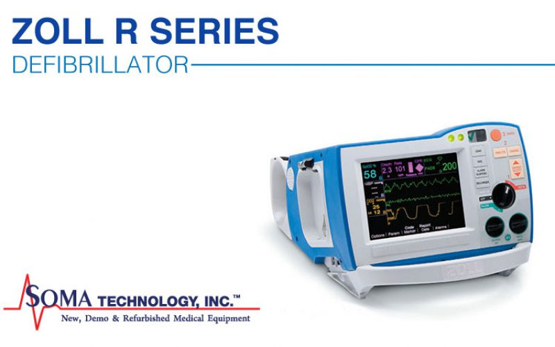Zoll R Series Defibrillator Featuring Daily Self Tests