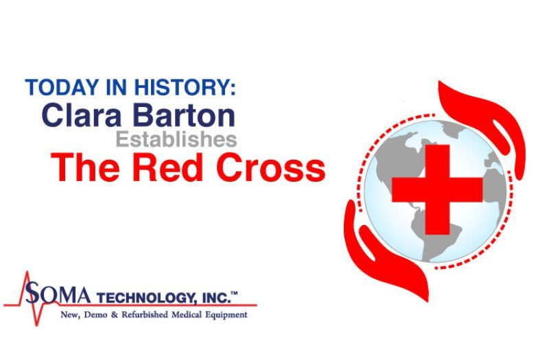Today in History: Clara Barton Establishes The Red Cross