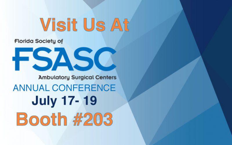FSASC 2019 – Florida Society of Ambulatory Surgery Centers