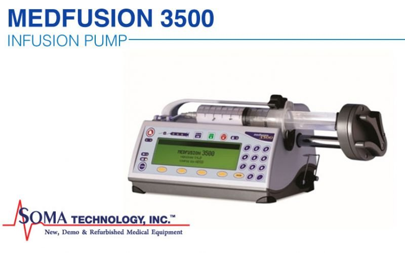 Medfusion 3500 Infusion Pump Featuring a Drug Library