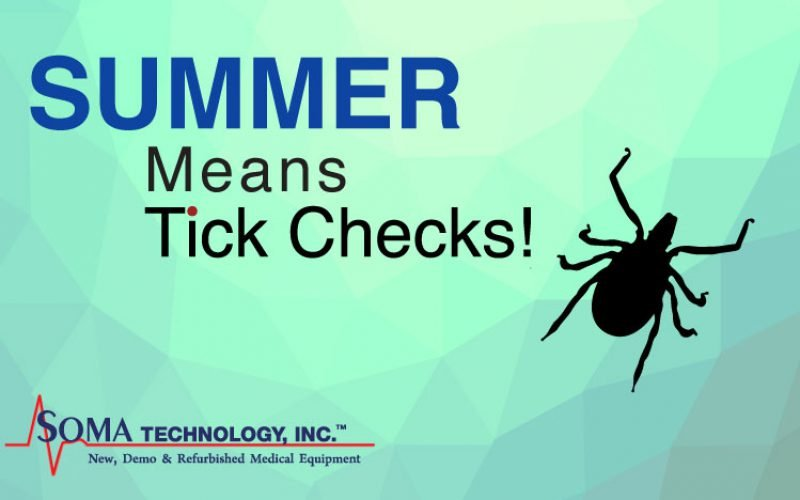 Summer Means Tick Checks!
