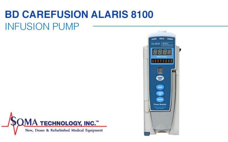 BD CareFusion Alaris 8100 Pump Module Featuring Gravity Infusion