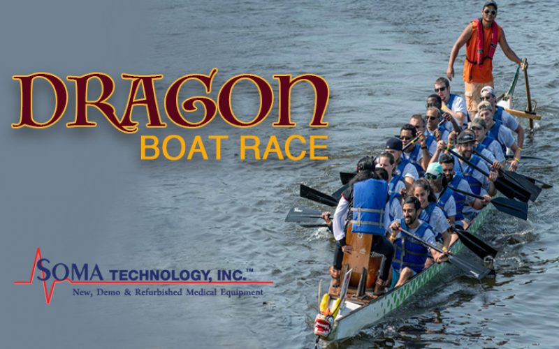 Soma Technology Participates in a Dragon Boat Race