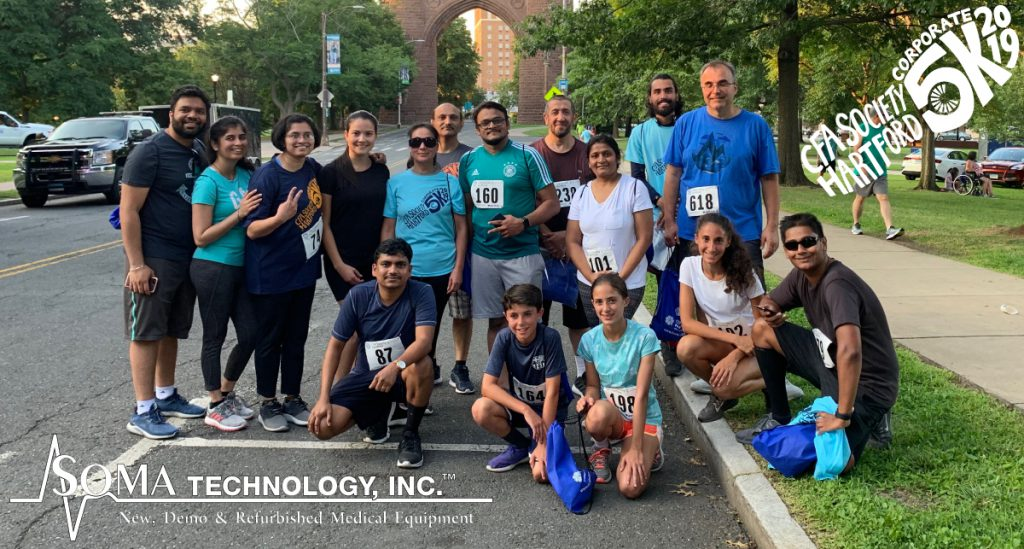 CFA Society Hartford Corporate 5K - Soma Technology, Inc.