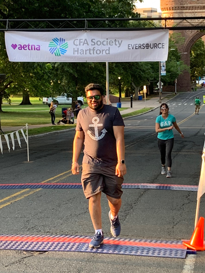 Pratik Dhuru and Isha Dhuru - Soma Technology, Inc. - CFA Society Hartford Corporate 5K