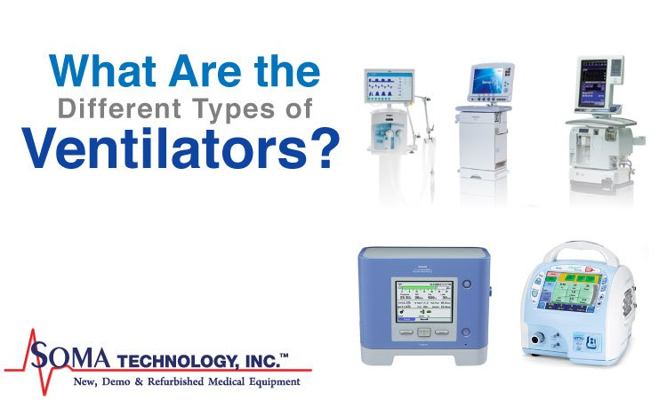 types of ventilators