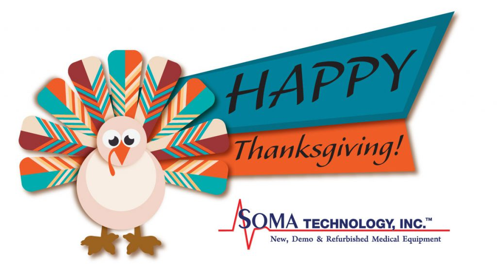 Happy Thanksgiving from Soma Technology, Inc.