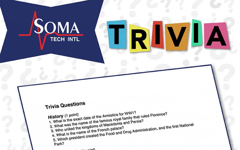 Soma Tech Intl – Trivia Event