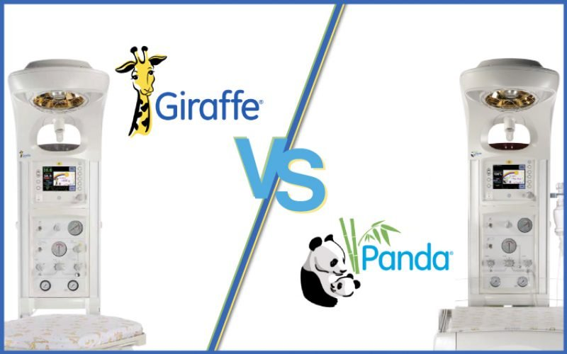 GE Panda Warmer vs GE Giraffe Warmer – Comparing Infant Warmers
