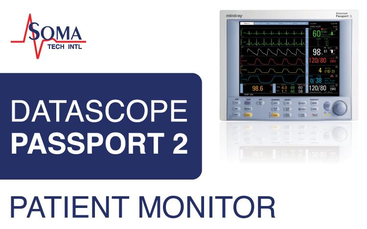 Datascope Passport 2 Patient Monitor - Soma Tech Intl
