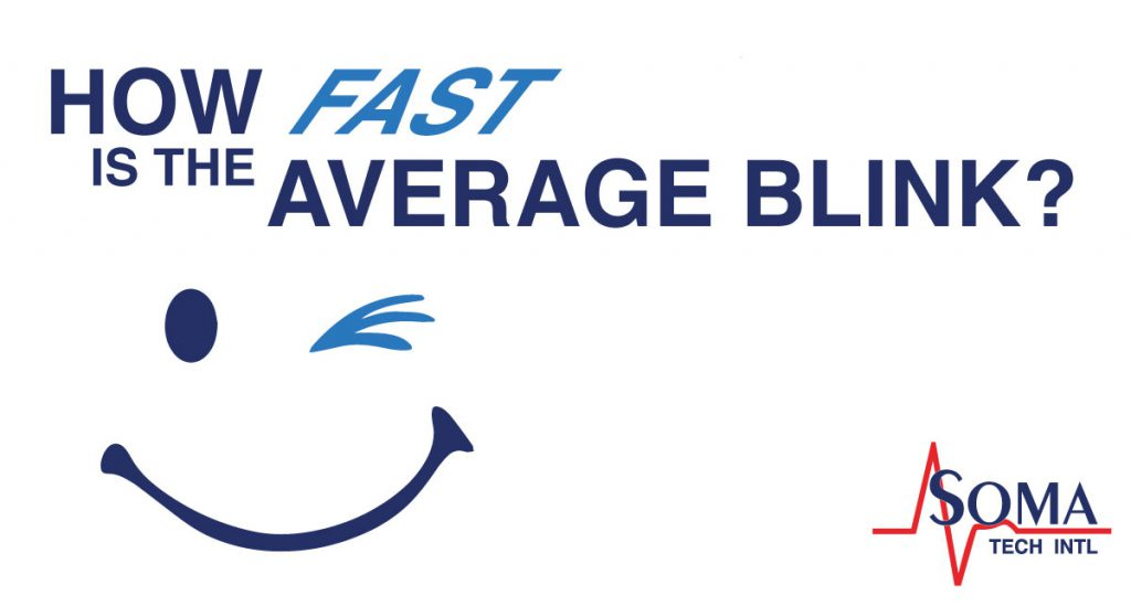 How Fast is the Average Blink - Soma Tech Intl