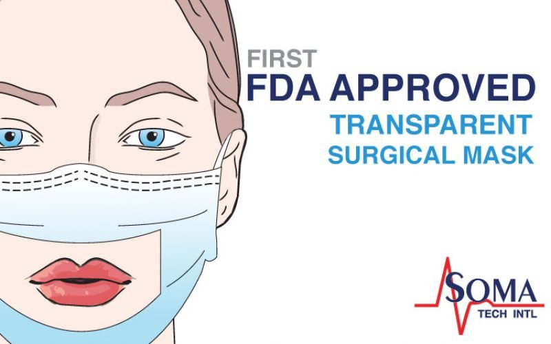 First FDA Approved Transparent Surgical Mask