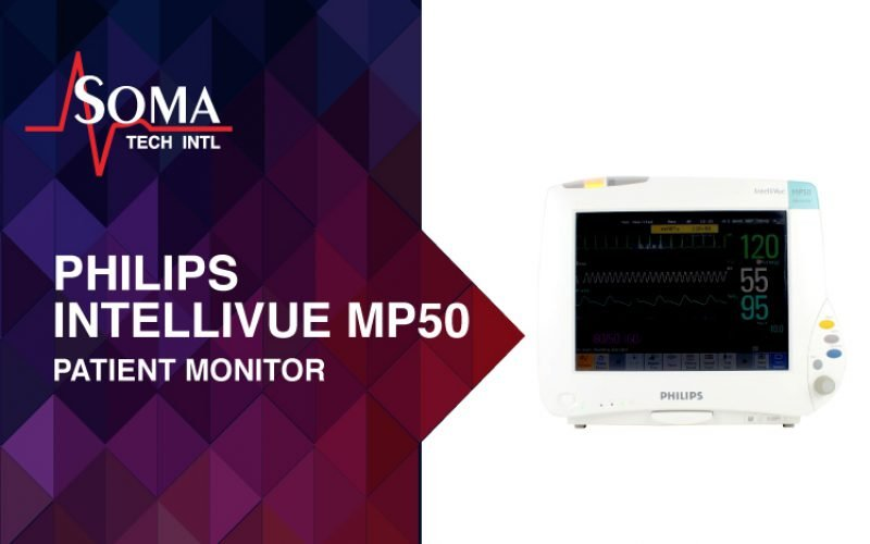 Philips IntelliVue MP50 Patient Monitors