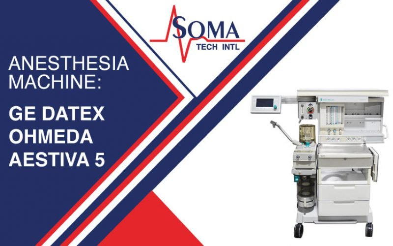 Anesthesia Machine: GE Datex Ohmeda Aestiva 5