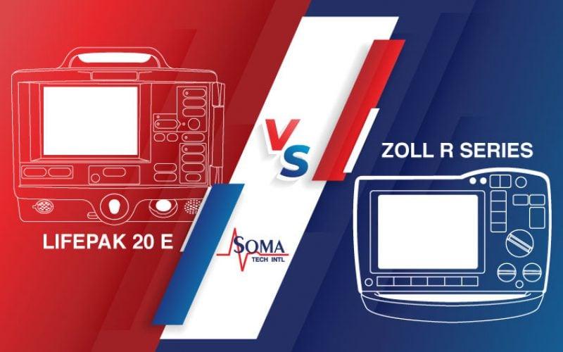 Defibrillator Comparison: Lifepak 20E VS Zoll R Series