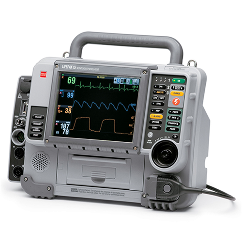 Desfibrilador Physio Control Lifepak 15 - Soma Technology, Inc.