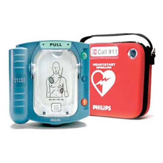 Desfibrilador automatico externo Philips Hearstart Onsite - Soma Technology, Inc.