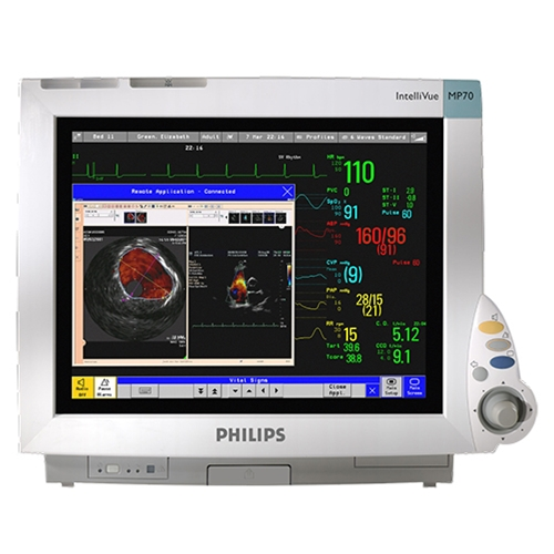 Monitores Multiparametro Philips IntelliVue MP70 - Soma Technology, inc.