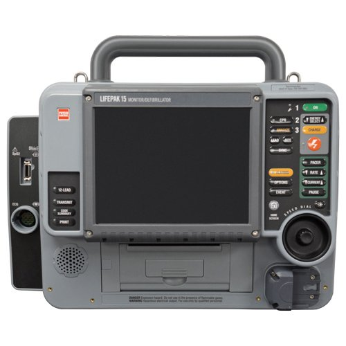 Stryker Medtronic Physio Control Lifepak 15 Desfibrilador - Soma Tech Intl