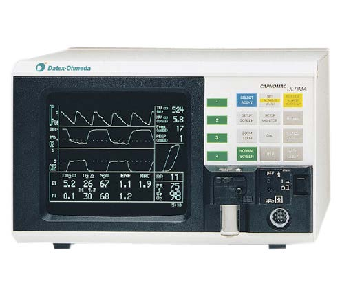 datex ohmeda ultima co2 and agent monitors - Equipo Medico Central - Soma Technology, Inc.