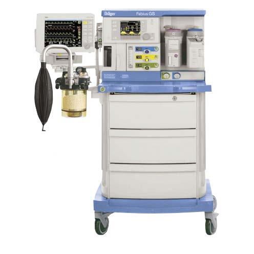 Drager Fabius GS Premium Máquinas de Anestesia - Equipo Medico Central - Soma Technology, Inc.
