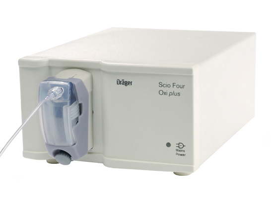 drager scio four oxi co2 and agent monitor - Equipo Medico Central - Soma Technology, Inc.
