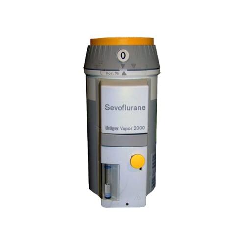 drager vapor 2000 sevoflurane Vaporizadores de anestesia - Soma Technology, Inc.