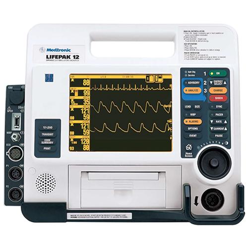 El desfibrilador Physio-Control Lifepak 12