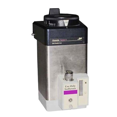 ohmeda tec 5 isoflurane anesthesia vaporizer - Equipo Medico Central - Soma Technology, Inc.