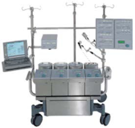sorin stocket shiley sIII heart lung machine - Equipo Medico Central - Soma Technology, Inc.