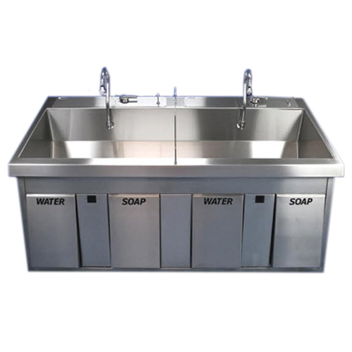 Scrub Sink Model SS64 IR MB - Equipo Medico Central - Soma Technology, Inc.