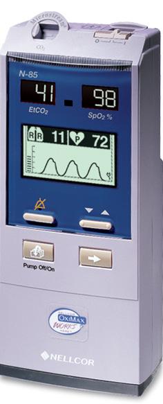 nellcor nbp 85 co2 spo2 monitor - Equipo Medico Central - Soma Technology, Inc.