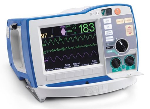 Zoll R-Series - Equipo Medico Central - Soma Technology, Inc.