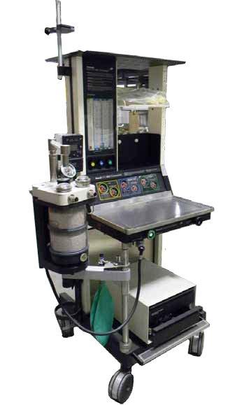 Datex Ohmeda Excel MRI Compatible Máquinas de Anestesia - Equipo Medico Central - Soma Technology, Inc.