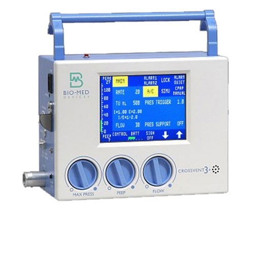 biomed crossvent 3 Ventiladores - Soma Technology