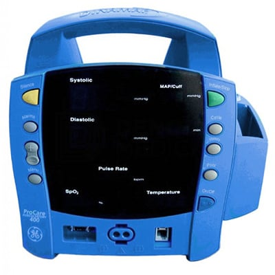 Monitores Multiparametros Dinamap ProCare 400 - Soma Technology, Inc.