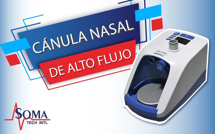 Cánula Nasal De Alto Flujo HFNC