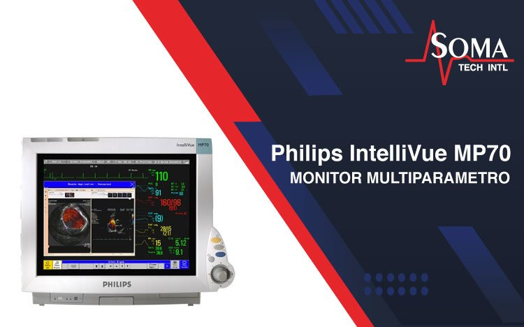 Philips IntelliVue MP70 Monitor Multiparametro