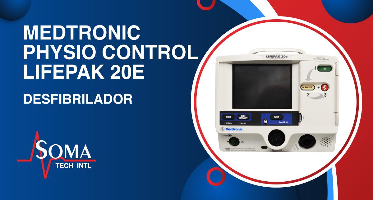 Physio-control Lifepak 20e Desfibrilador