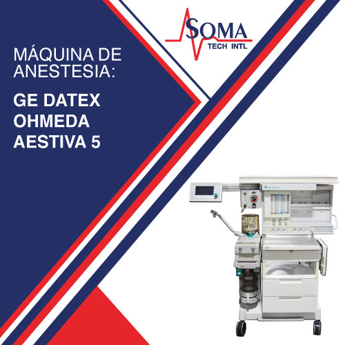 Máquina de Anestesia: GE Datex Ohmeda Aestiva 5