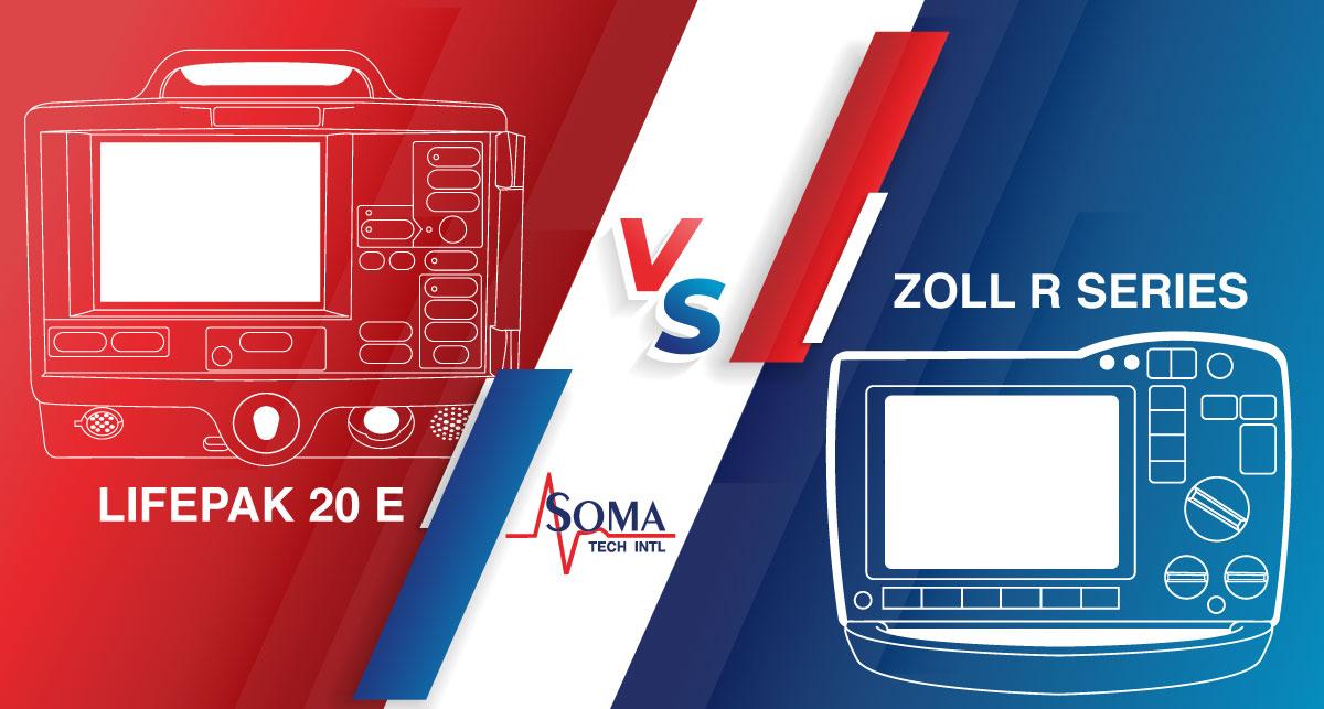 Comparación De Desfibriladores: Lifepak 20E VS Zoll R Series